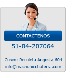 Contactenos Machupicchu Viaje
